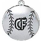 """SWW1503-CFSC - """"SOFTBALL BALL - CENTER FIELD"""""""