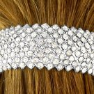 SWW9980HJ - GENUINE AUSTRIAN CRYSTAL HAIR CLIP