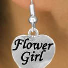 "SWW651SEfishhook - ""FLOWER GIRL"" HEART & EARRINGS"