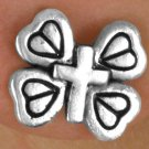 SWW14486E - MINIATURE BUTTERFLY CROSS EARRINGS