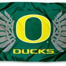 Oregon Ducks Wings University Flag - SWAZC