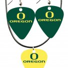 College Guitar CGPW1-OR Game Day Pick Wear Ear Ring Necklace Pack - SWAZC