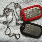 MEDICAL Information Dog Tag Dogtags Personalized For You