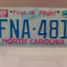 1985 North Carolina License Plate Tag NC #FNA-401