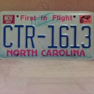 1989 North Carolina EX License Plate Tag NC #CTR-1613
