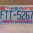 1994 North Carolina License Plate Tag NC FTT-5267