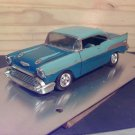 1957 Custom Chevrolet Bel-Air 1:25 Scale Model in 2-tone Blue