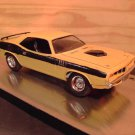 1971 Plymouth Barracuda 1:24 Scale Model in Yellow