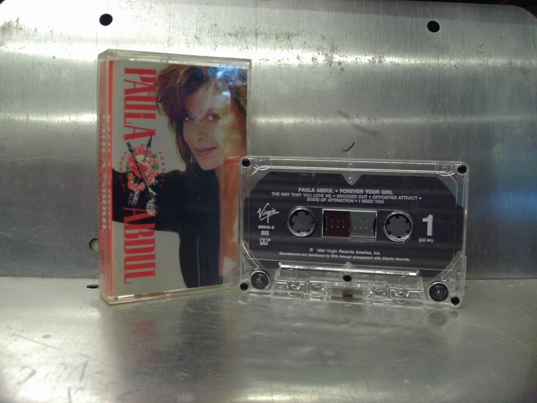 Paula Abdul - Forever Your Girl Cassette Tape A1-1