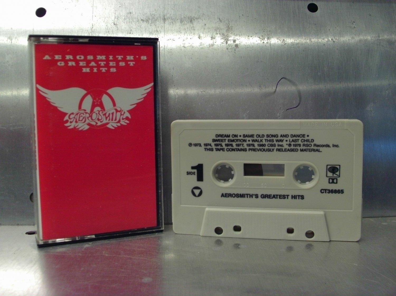 Aerosmith - Greatest Hits Cassette Tape A1-11