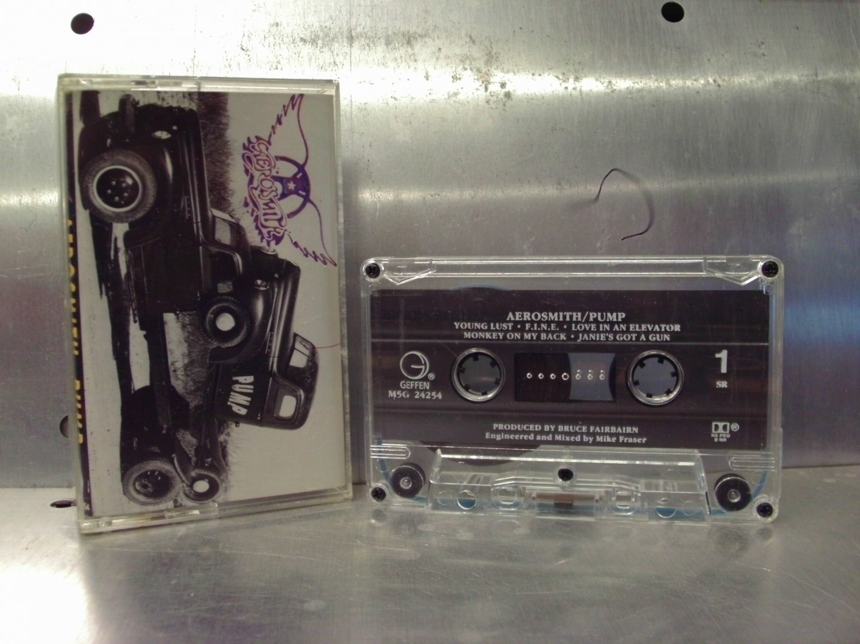 Aerosmith - Pump Cassette Tape A1-14