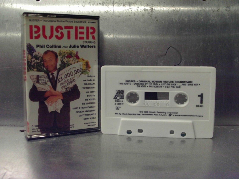 Buster - Movie Soundtrack Cassette Tape A1-46