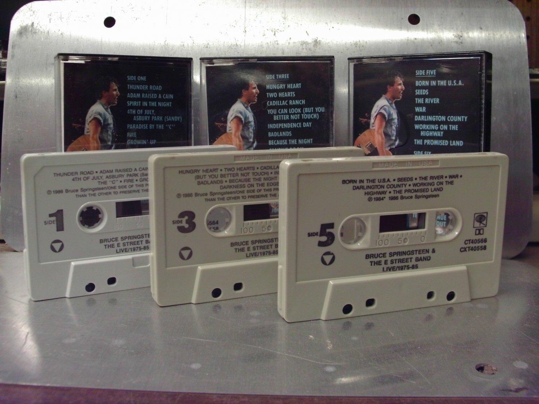 Bruce Springsteen & The E Street Band - Live! 1975-85 Box Set Cassette Tape A1-42