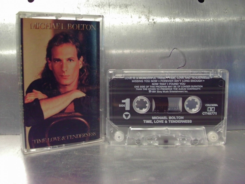 Michael Bolton - Time, Love & Tenderness Cassette Tape A1-29