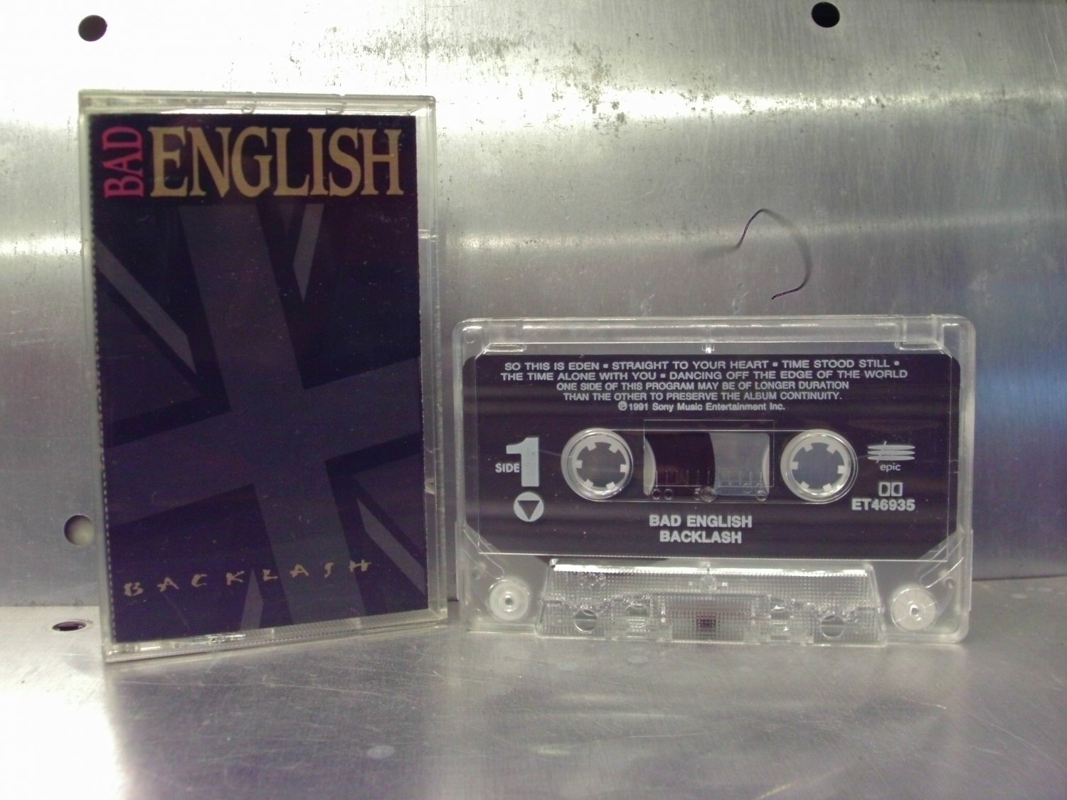 Bad English - Backlash Cassette Tape A1-23
