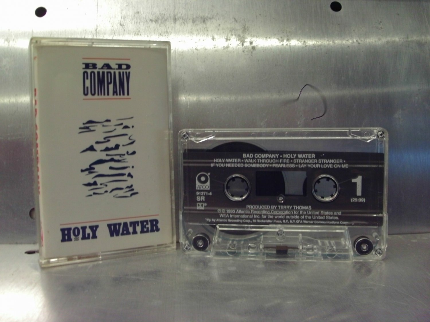 Bad Company - Holy Water Cassette Tape A1-20