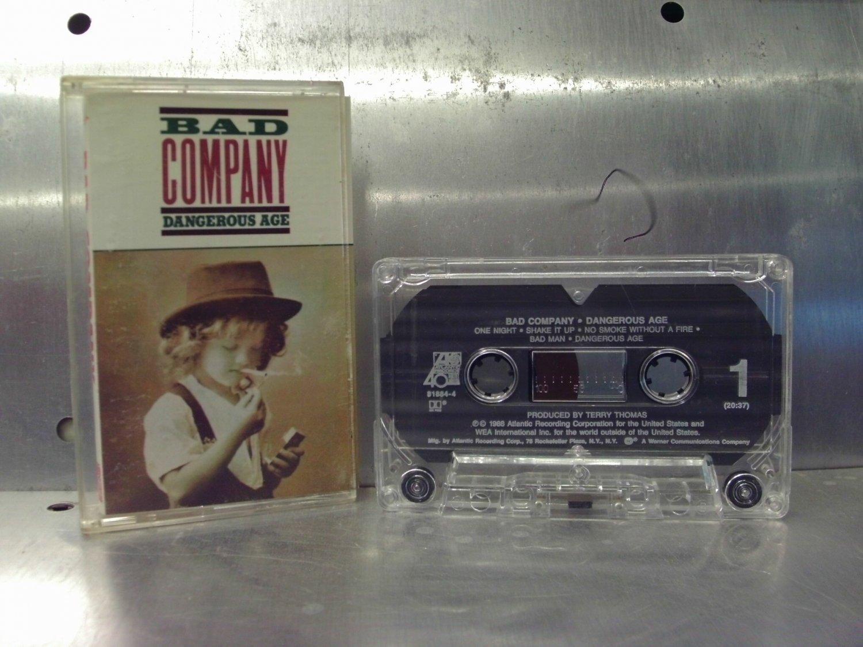 Bad Company - Dangerous Age Cassette Tape A1-19