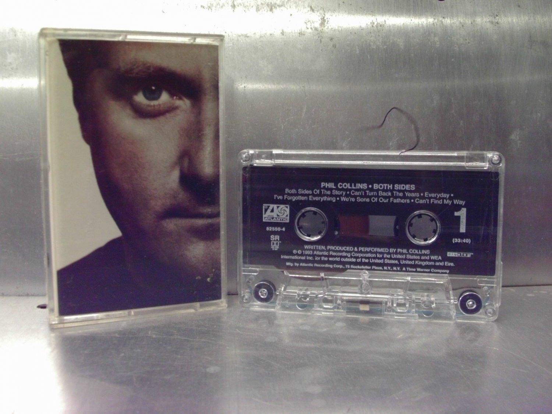 Phil Collins - Both Sides Cassette Tape A1-64
