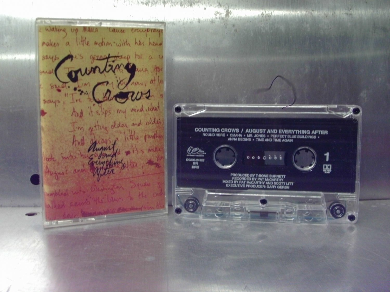 Counting Crows - August and Everything After Cassette Tape A1-66