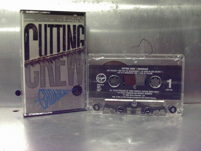 Cutting Crew - Broadcast Cassette Tape A1-68