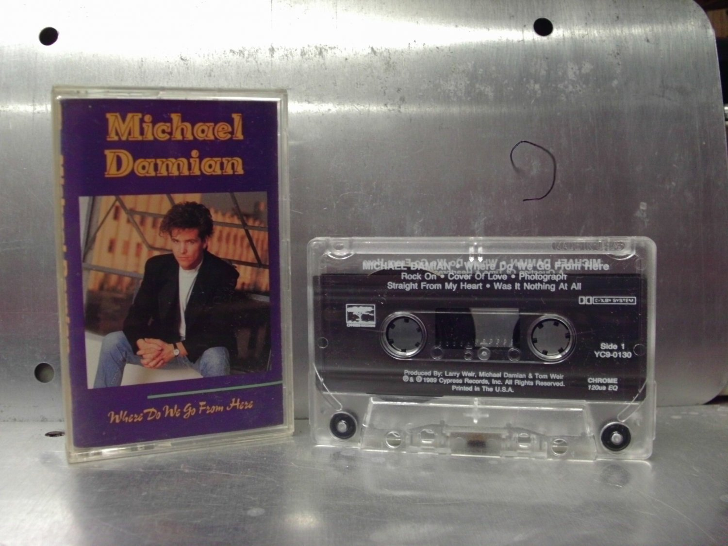 Michael Damian - Where Do We Go From Here Cassette Tape A1-69