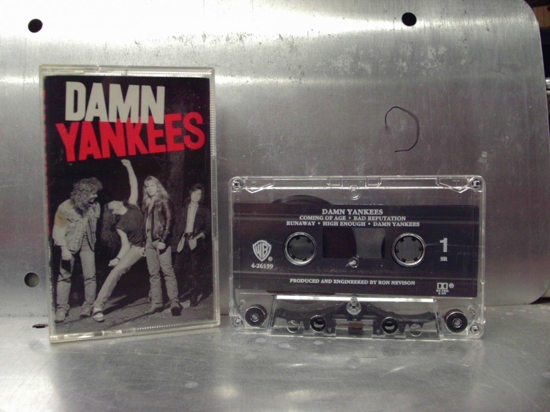 Damn Yankees - Self Titled Cassette Tape A1-70
