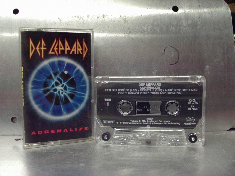 Def Leppard - Adrenalize Cassette Tape A1-75