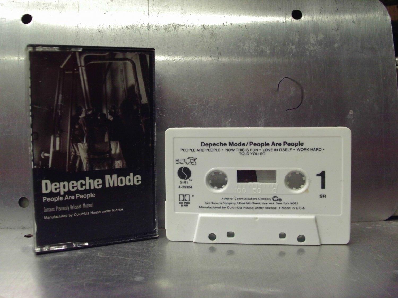 Depeche Mode - People Are People Cassette Tape A1-76