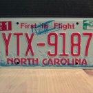 2010 North Carolina NC License Plate Tag YTX-9187 EX-N
