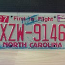 2009 North Carolina NC License Plate Tag #XZW-9146 EX-N