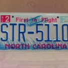 2005 North Carolina NC License Plate Tag #STR-5110 EX