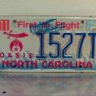2005 North Carolina NC Shriners Oasis Temple License Plate Tag #1527T