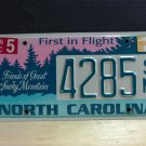 2011 North Carolina NC Friends of Great Smoky Mountains License Plate Tag #4285SM