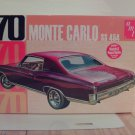 AMT 1970 Chevrolet Monte Carlo SS454 1/25 Scale Model Kit AMT928/12