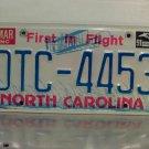 1991 North Carolina License Plate Tag NC DTC-4453
