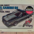 MPC 1986 Chevy El Camino SS 1/25 Scale Model Kit MPC888/12