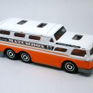 2018 Matchbox #8 GMC Bus in White Mint on Card