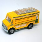 2018 Matchbox #25 Chow Mobile in Yellow Mint on Card