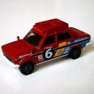 2018 Matchbox #108 '70 Datsun 510 in Red Mint on Card