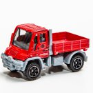 2019 Matchbox #37 Mercedes-Benz Unimog in Red Mint on Card