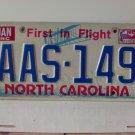 1984 North Carolina NC YOM License Plate AAS-149