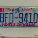 2014 North Carolina License Plate NC #BFD-9410