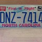 1991 North Carolina License Plate Tag NC DNZ-7414