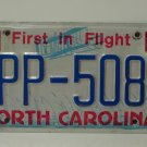 1987 North Carolina License Plate Tag NC BPP-5083