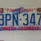 1984 North Carolina NC Passenger YOM License Plate BPN-347 VG-N