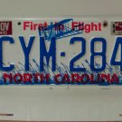 1984 North Carolina NC Passenger YOM License Plate CYM-284 VG-N