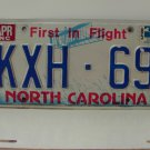 1985 North Carolina License Plate NC KXH-69 VG