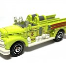 2020 Matchbox #26 Seagrave Fire Engine in Yellow Mint on Card