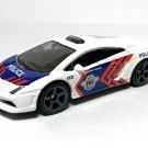 2020 Matchbox #87 Lamborghini Gallardo Police in White Mint on Card