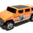 2020 Matchbox #89 Hummer H2 SUV Concept in Orange Mint on Card